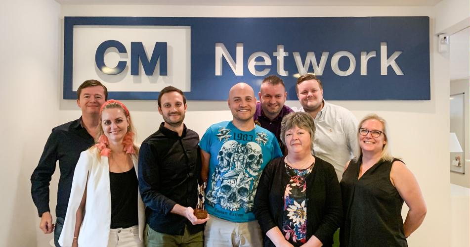 CM Network A/S er en Succesvirksomhed